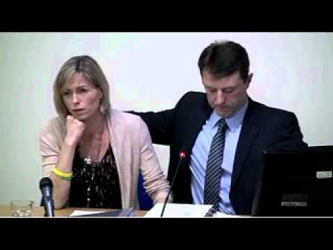 Leveson Inquiry Pt 3 of 3 - Kate & Gerry McCann - Nov 23rd 2011 (Unedited)