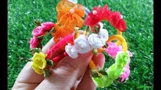 Phụ kiện trang sức, cài tóc hoa cho búp bê/ bộ kid 5 loại slime giá 30k ngày 22/2/2019
