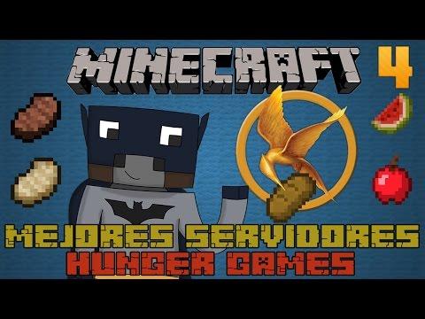 Mejores Servidores de Juegos del Hambre PREMIUM - Minecraft [1.7.4/1.7.9]