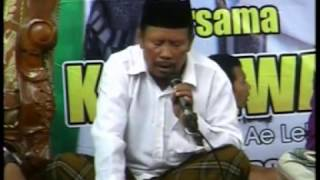 CONTOH TAHLIL  Acara Pengajian KH Anwar Zahid di Godo, Winong