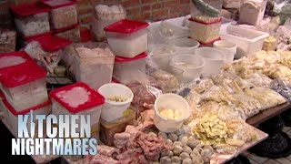 Kitchen Has Enough Frozen Food For 12 Months! - Kitchen Nightmares