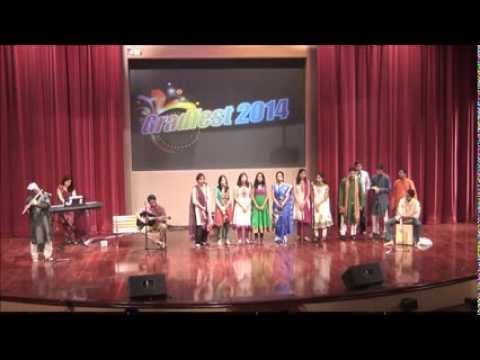Indian Music Performance  GradFest 2014 NTU Singapore