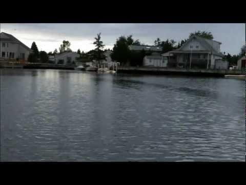 Kayak fishing for bluefish snappers, New Jersey,  Sept 17, 2011