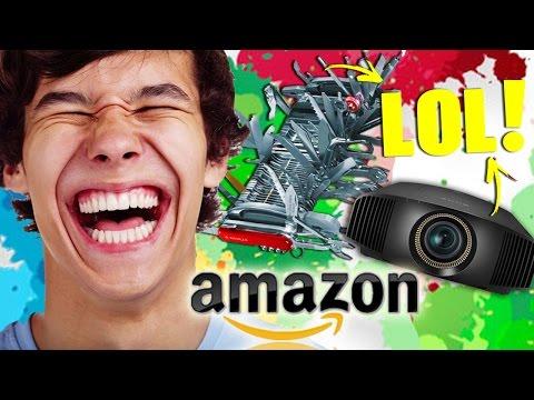 LE RECENSIONI PIU' ESILARANTI DI AMAZON! #1