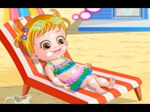Baby Hazel At Beach   Bayi dan Anak