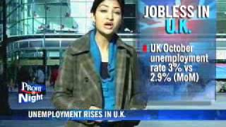 UK unemployment rate soars to 11-yr high