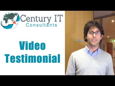 Century IT Consultants Testimonial - Crashed Laptop Data Recovery  - 100% Recovered