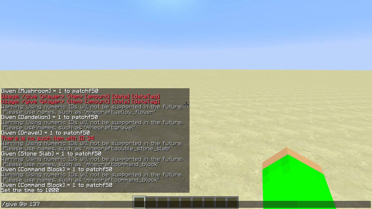 Minecraft Command Block id