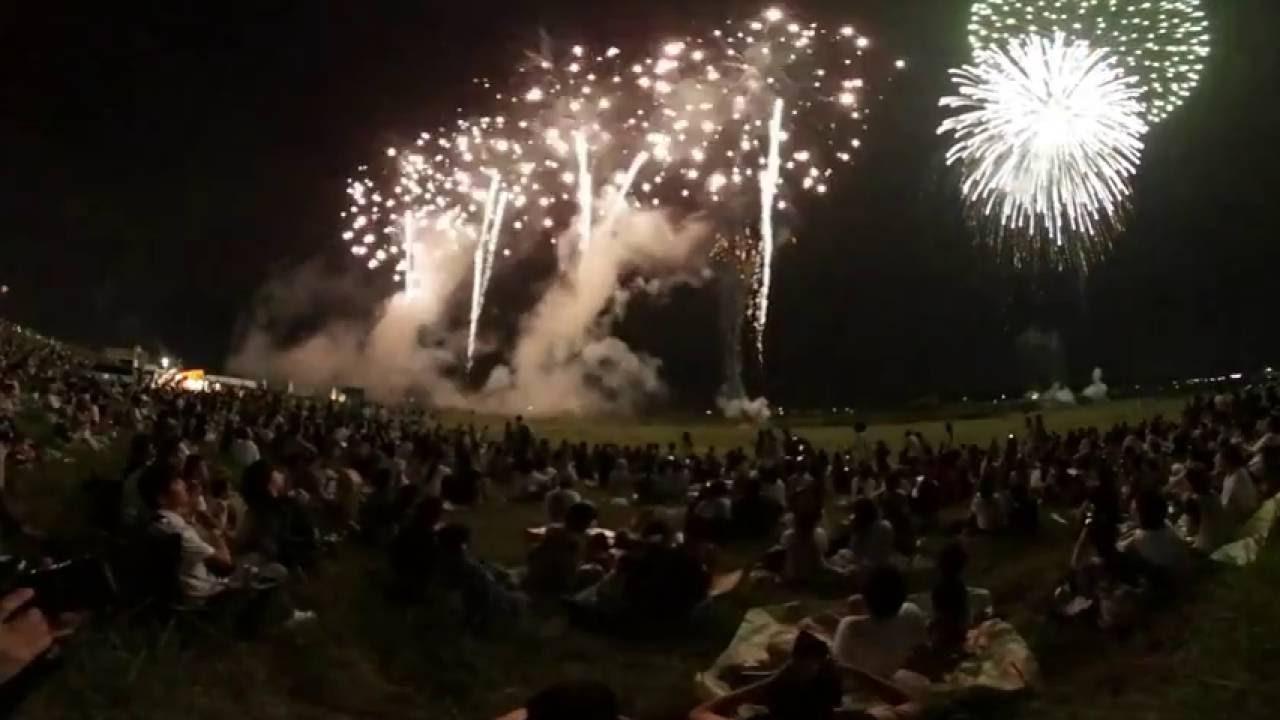 360 video 第 70 回北日本新聞納涼花火大会 2016 Toyama Summer Fireworks Festival