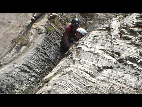 Rock Slide At Jalbire Canyoning Nepal video