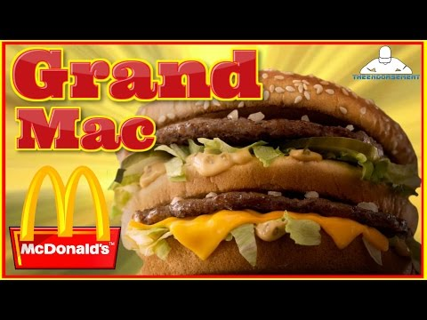 MCDONALD'S® | GRAND MAC REVIEW | THEENDORSEMENT