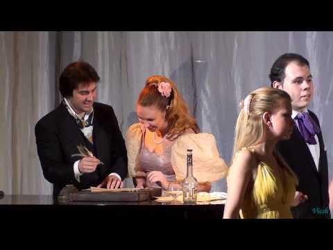Евгений Онегин в РАМ 18.02.2013 - Сцена на бале (флирт)