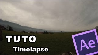 TUTO After effects CS6 (Timelapse) FR