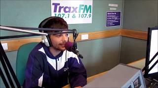 Louis Tomlinson interviewed on Trax FM