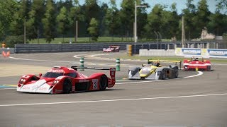 Project CARS 2 Test Race 75 Le Mans Toyota TS020 GT-One Broadcast