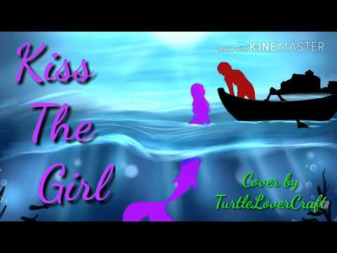 Kiss the girl from The Little Mermaid ~ Cover by TurtleLoverCraft *Aphmau mermaid tales*