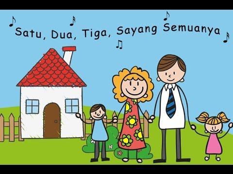 SATU SATU Lagu Anak Terbaru Indonesia versi kartun