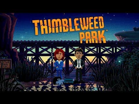 Thimbleweed Park – Game Movie (All Cutscenes / Story Walkthrough) 1080p HD