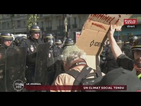 Sénat 360 : Climat social tendu / École / République numérique (02/05/2016)