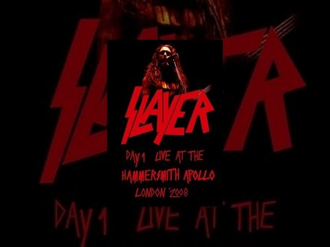 Slayer - Live at the Hammersmith Apollo, London