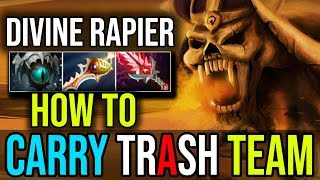 Divine Rapier War [Clinkz] How to Carry a TrashTalk Team By Timado Patch 7.18 | Dota 2 Highlights
