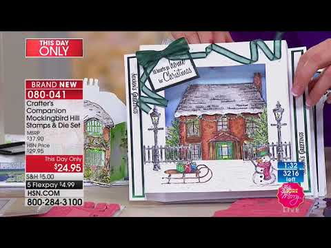 HSN   Crafter's Companion 10.03.2017 - 09 PM