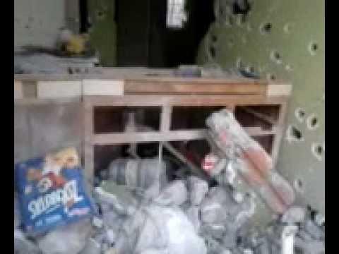 reynosa balacera en villa florida video inedito de como quedaron las casas destrosadas