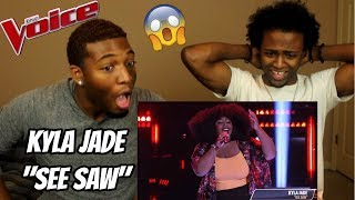 "Download Lagu The Voice 2018 Blind Audition - Kyla Jade: ""See Saw"" (REACTION) Gratis STAFABAND"