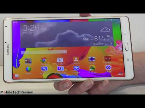 Samsung Galaxy Tab S 8.4 Review