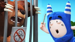 Oddbods | Eating At The ZOO | Funny Cartoons For Children | Vidavoo