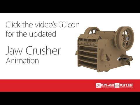 Jaw Crusher Animation