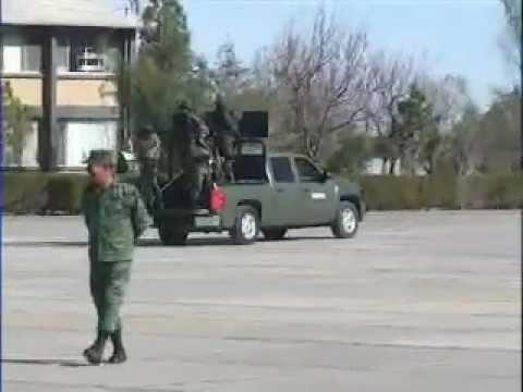 Nuevos cuarteles militares en Coahuila. 28 Junio 12. Telediario Saltillo