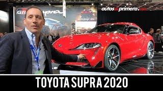 Toyota Supra 2020, primer contacto desde el Auto Show de Detroit 2019