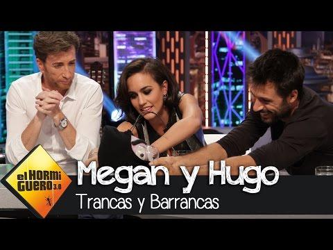 Hugo Silva y Megan Montaner con Trancas y Barrancas en El Hormiguero 3.0