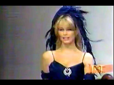 Claudia Schiffer - Fashion Report Correspondent 1993 (Paris)
