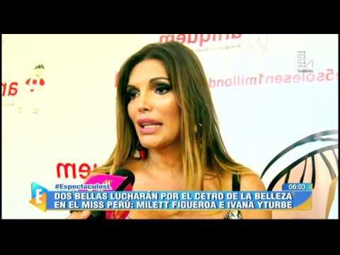 Milett Figueroa E Ivana Yturbe Lucharán Por Ser La Miss Perú