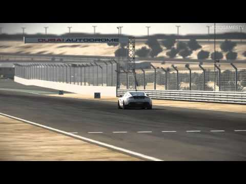 Project CARS Build 799 - Aston Martin V8 Vantage GT4 at Dubai Autodrome International (Replay)