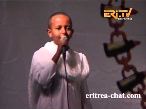 Eritrean Traditional Mase Masse by young boy in Festival Scandinavia 2014