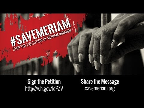 Help Us Save Meriam Ibrahim
