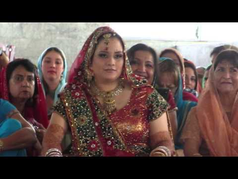 Rishi weds Michele - Gurdwara ceremony -