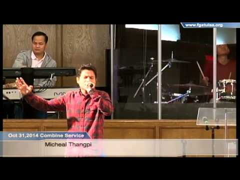 MiCheal Thangpi @ Oct 31,2014 Homecell Combine Service