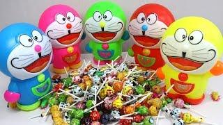 Gia đình ngón tay bóc trứng Doraemon học màu sắc - Doraemon Egg Finger Family Song Learn Colors