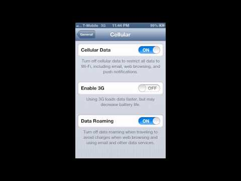 T-Mobile & Simple Mobile MMS Fix iOS 6 NO JAILBREAK NEEDED