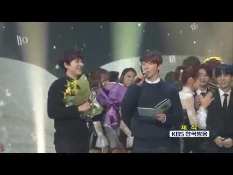 [Vietsub] 141121 Kyuhyun phát biểu giành No. 1 Music Bank với At Gwanghwamun [KyuVN]