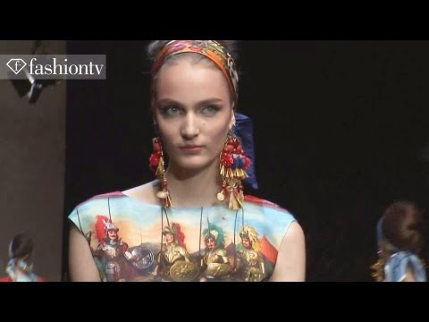 Dolce & Gabbana Spring/Summer 2013 FULL SHOW | Milan Fashion Week MFW | FashionTV