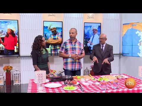 Sunday with EBS: Cooking  with Artist Behailu Mammo