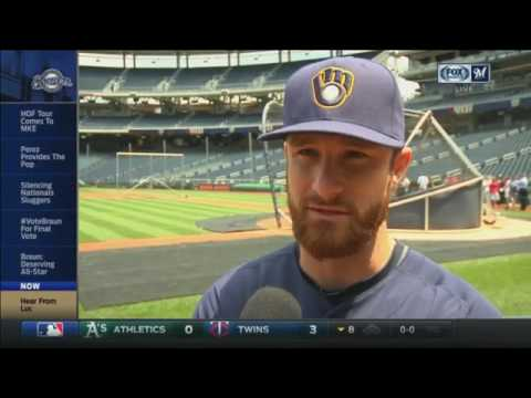 Brewers catcher Lucroy humbled by All-Star nod