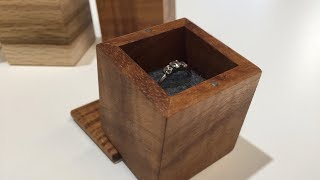 Ring box build, dovetail and miter with special guest Jonathan Katz-Moses