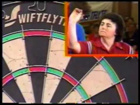 Patricia Farrell vs. Mandy Solomons - Women's Semi-Final - 1993 BDO Canadian Open