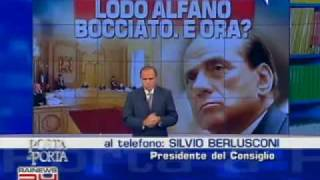 Berlusconi vs Bindi Берлускони Рози Бинди